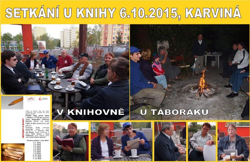 2015_10_06_Karviná_Setkání u knihy_fotokoláž