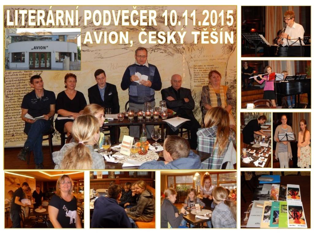 2015_11_10_Český Těšín_Avion_Literární podvečer