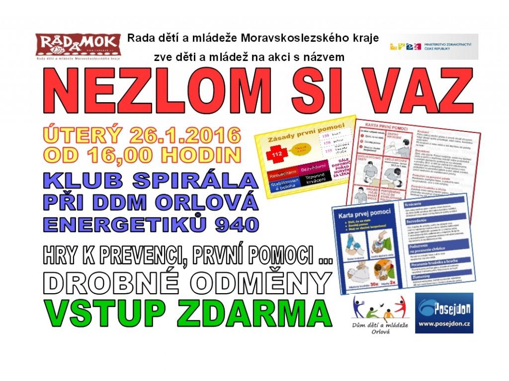 2016_01_26_Orlová_Nezlom si vaz_leták2