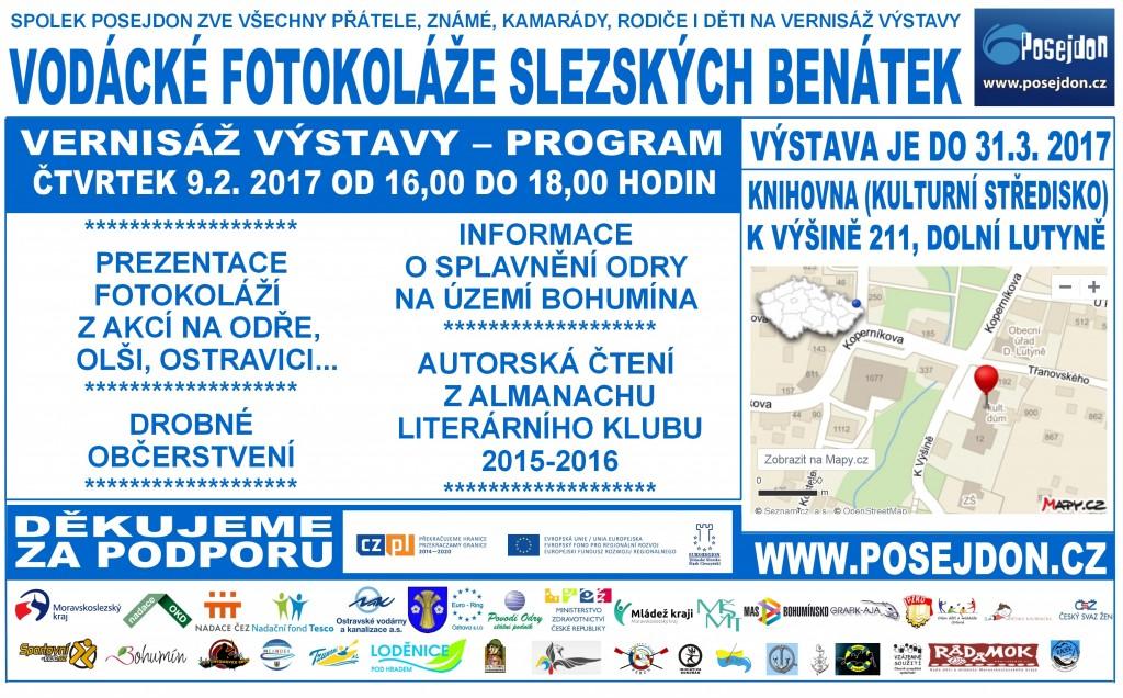 2017_02_09_Dolní Lutyně_Výstava vodácké fotokoláže_letak