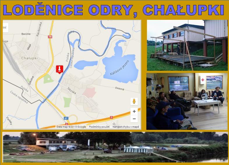 Loděnice Odry Meander Chalupki
