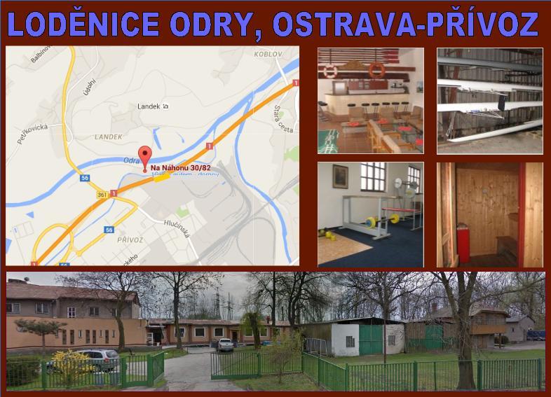 Loděnice Odry Perun Ostrava Přívoz